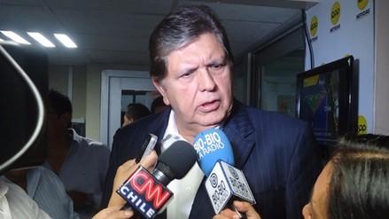 """Alan García: """"El JNE cerró un capítulo de incertidumbre"""""""