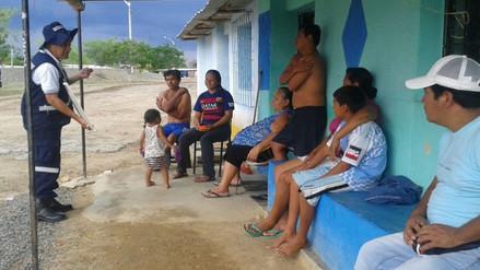 Brigadas de Salud atienden en zonas vulnerables por lluvias