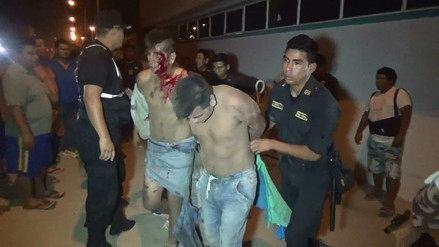 Nuevo Chimbote: vecinos dan paliza a ladrones