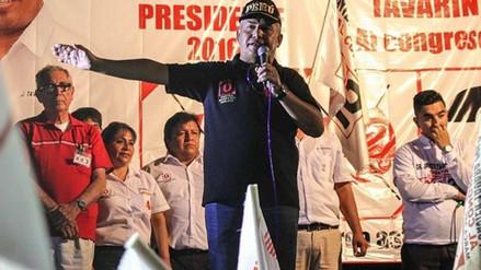 Daniel Urresti niega que renunciará a su candidatura a la presidencia