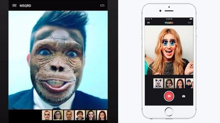 Facebook adquiere MSQRD, app que pone máscaras sobre el rostro