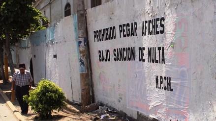 Municipalidad de Chiclayo multará a quienes peguen afiches en la vía pública