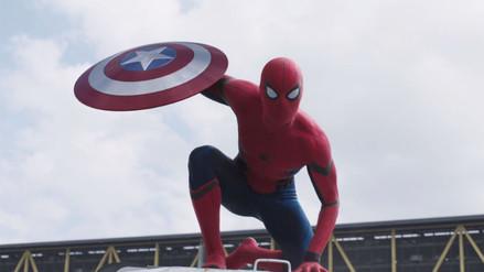 YouTube: nuevo tráiler de Capitán América - Civil War incluye a Spiderman