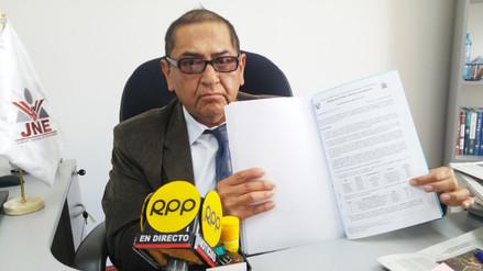 Huancayo: candidato Vladimiro Huaroc investigado por JNE