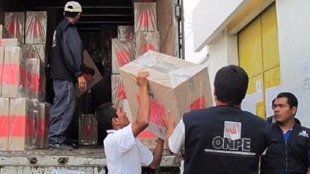 Odpe Chiclayo espera llegada de material electoral