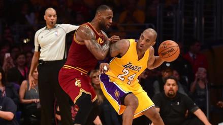 YouTube: Kobe Bryant 'bailó' a LeBron James en último duelo como profesionales