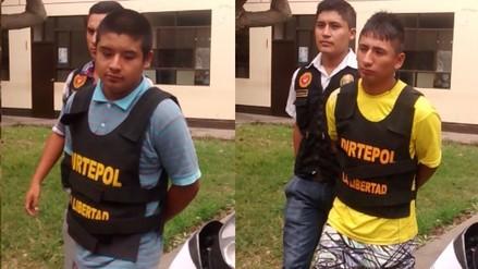Trujillo: caen presuntos sicarios de banda 'Los Payasos'