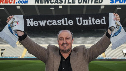 Premier League: Rafa Benítez es nuevo DT del Newcastle e intentará salvarlo