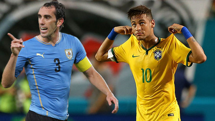 Brasil vs. Uruguay: Diego Godín 'calienta' el partidazo de Eliminatorias