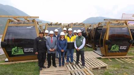 Mincetur recibe las cabinas que se instalarán en teleférico de Kuélap