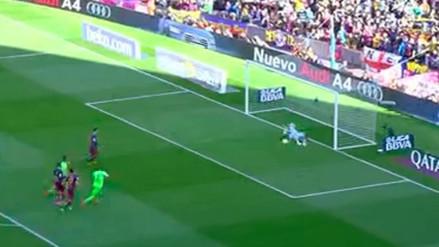 Lionel Messi falló un penal y metió al Barcelona en un terrible registro