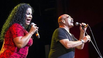 Eva Ayllón cantó