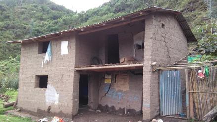 Verifican daños por lluvias en el distrito de Cañaris