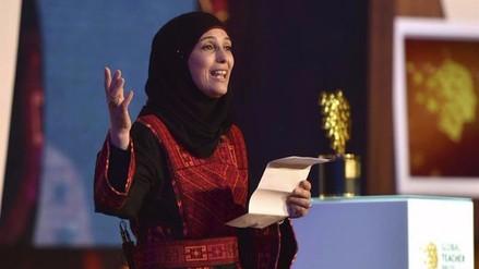 Una palestina ganó el premio