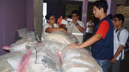 Trujillo: cierran almacén de alimentos de programas sociales por insalubre