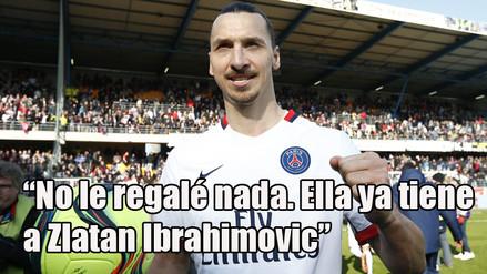 Zlatan Ibrahimovic Y Las 8 Frases Que Lo Convierten En Un