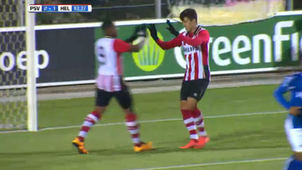 YouTube: Luiz da Silva anotó en la victoria 3-1 del Jong PSV ante Helmond