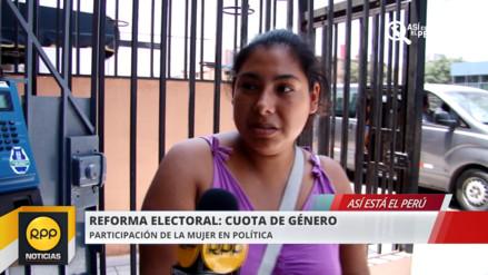 Así está el Perú: Solo uno de cada cinco congresistas es mujer