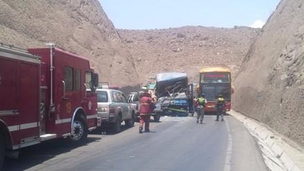 La Oroya: 36 accidentes de tránsito en Carretera Central durante dos meses