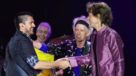 Juanes cuenta su experiencia musical con The Rolling Stones