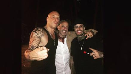 Facebook: Vin Diesel y Nicky Jam se juntan para dejar este mensaje a su fans