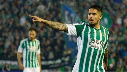 Juan Vargas dejaría el Real Betis por el Napoli de Italia, aseguran en España