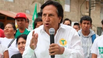 Alejandro Toledo realiza actividades proselitistas en Junín