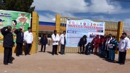 Juliaca: denuncian a dirigentes por cierre de hospital debido a huelga indefinida