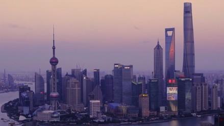 Video: así fue la construcción del rascacielos más grande de China