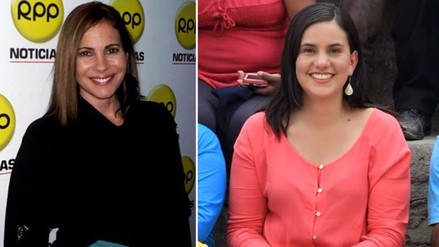 Twitter: Karina Calmet insulta a Verónika Mendoza