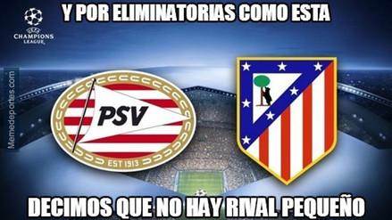 Champions League: los memes de los penales del Atlético de Madrid vs. PSV