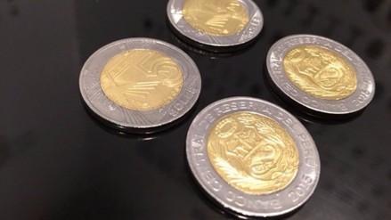 Trujillo: monedas de cinco soles acuñadas en el 2015 no son falsas