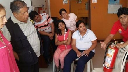 Trabajadores de RPP-Chiclayo fueron capacitados en uso de extintores