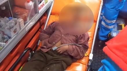 Auxilian a niño encontrado en estado de ebriedad en calles de Huancayo