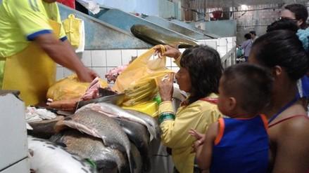 Precios de alimentos se incrementan en octavo día de huelga indefinida