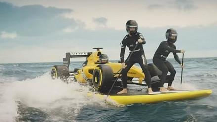 YouTube: Renault presentó sus nuevos colores para el Mundial de Fórmula Uno