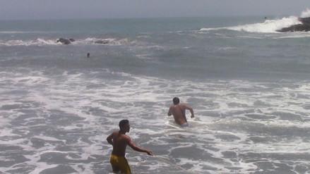 Huacho: joven desaparece en el mar de playa de Végueta