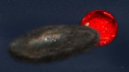 Descubren una misteriosa estrella que cambia cada 70 años