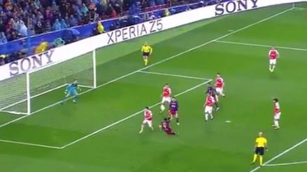Barcelona vs. Arsenal: Luis Suárez dejo estático a Ospina con esta 'tijera'