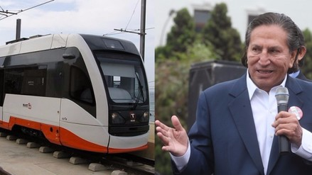 Alejandro Toledo habla del tren Tacna a Tumbes que propone construir