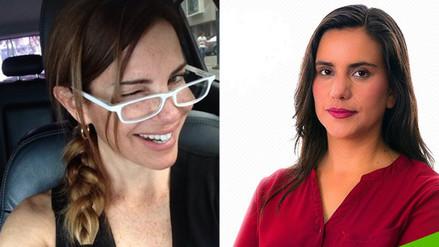 Twitter: Karina Calmet reafirma su crítica contra Verónika Mendoza