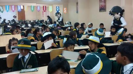 Unos 60 escolares de Circa estudiarán en comisaria de Hunter