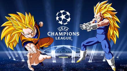 Champions League: Dragon Ball Z presente en cuartos de final con este meme