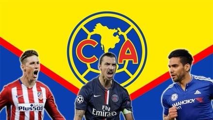 América de México quiere 'romper' el mercado fichando a Zlatan, Falcao o Torres