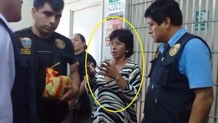 En manos de Fiscalía quedó suerte de mujer que iba a ingresar droga en papas