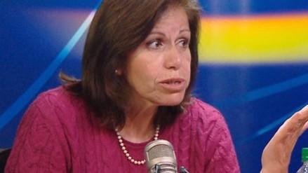 Lourdes Flores pidió disculpas por reacciones de Alan García