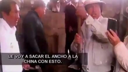 Alejandro Toledo con comba en mano amenaza a Keiko Fujimori