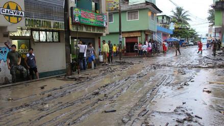 Lluvia torrencial deja 50 viviendas afectadas en provincia de La Mar