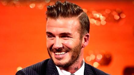 David Beckham reconoce que tiene una dolorosa adicción