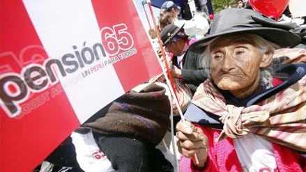 Pensión 65 recuperó S/ 8.8 millones depositados a usuarios fallecidos
